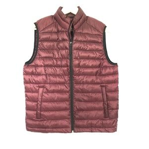 Aeropostale Burgundy Vest Mens Size Small